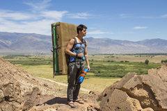 Rock Climbing Photo: Me just hanging at the sad boulders