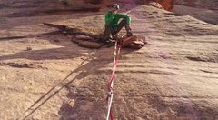 Just another canyoneering anchor...