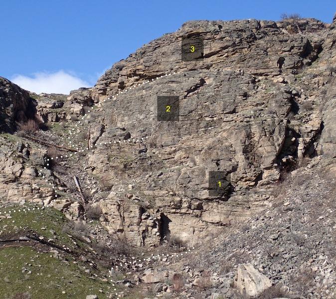 Rock Climbing Photo: Gully Wall