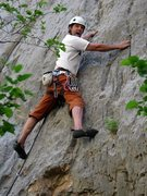 Rock Climbing Photo: Good Intentions, Richard?
