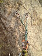 Rock Climbing Photo: This is what you can expect for most of the belay ...