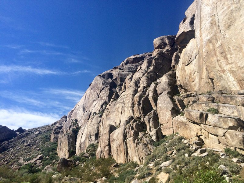 Rock Climbing Photo: Saline Wall