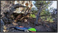 Rock Climbing Photo: Alakazam problem beta.