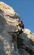 Rock Climbing Photo: Merrick Schaefer enjoying the sun and view of the ...