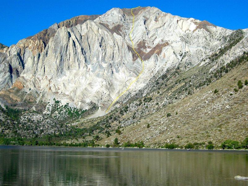 Laurel Mt. Northeast Gully shown.