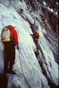 """Rock Climbing Photo: """"Belaying"""" on the ledges of the """"So..."""