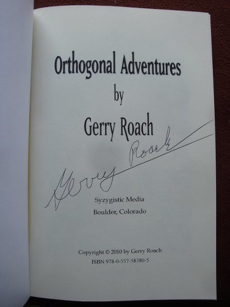Signed by the author.