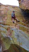 Rock Climbing Photo: Chris sending.
