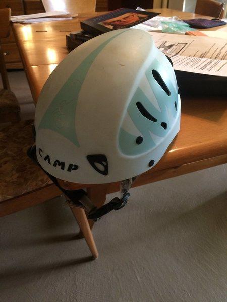 camp lady armour helmet