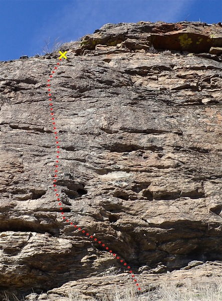 Rock Climbing Photo: Have A Gneiss Day topo