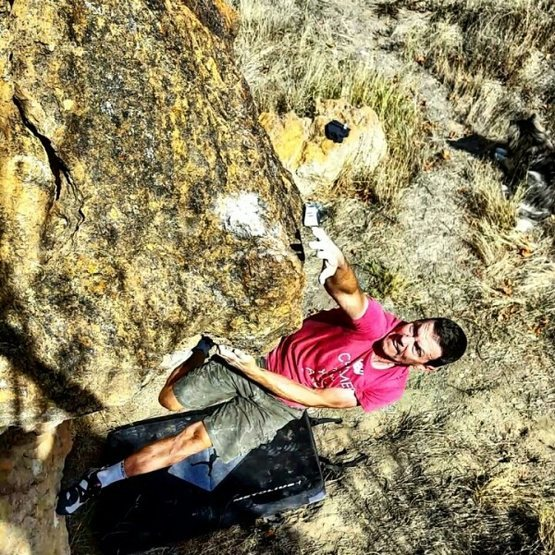 Rock Climbing Photo: Due South, somewhere in the West.
