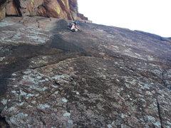 Rock Climbing Photo: Dimitri on crazy alice