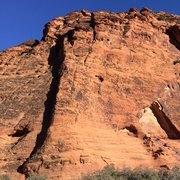 Rock Climbing Photo: Circus Wall Area, Snow Canyon State Park
