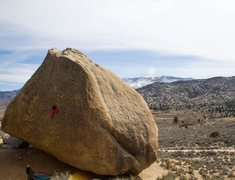 Rock Climbing Photo: Ground up ascent of Footprints