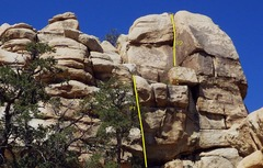 Rock Climbing Photo: P1 up an overhanging but amply featured dihedral. ...
