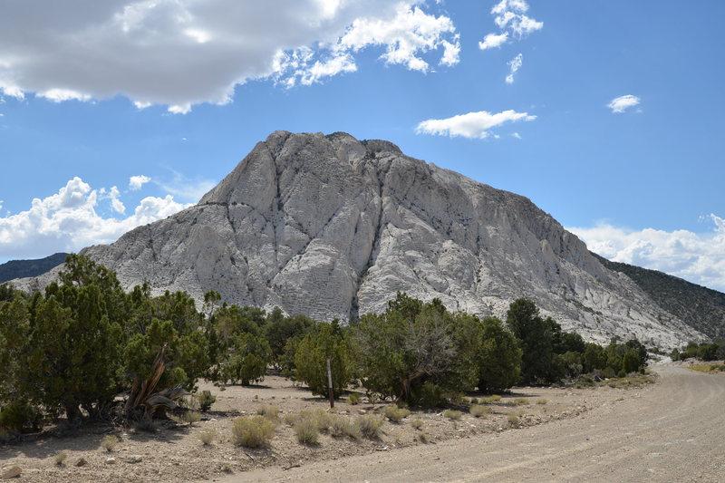 Rock Climbing Photo: Crystal peak