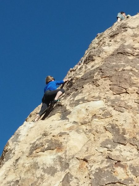 Rock Climbing Photo: There and Back Again