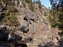 Rock Climbing Photo: JY Crag