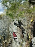 Rock Climbing Photo: Haven (5.10 a/b), Palisades/Whitewater Creek Trail...