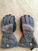 Grey BD Gloves