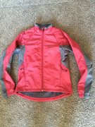 $25- Womens Pearl Izumi cycling jacket, size S