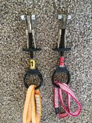 $25 each or $45 for both Trango Flex Cams, size 0.5, 1.0.