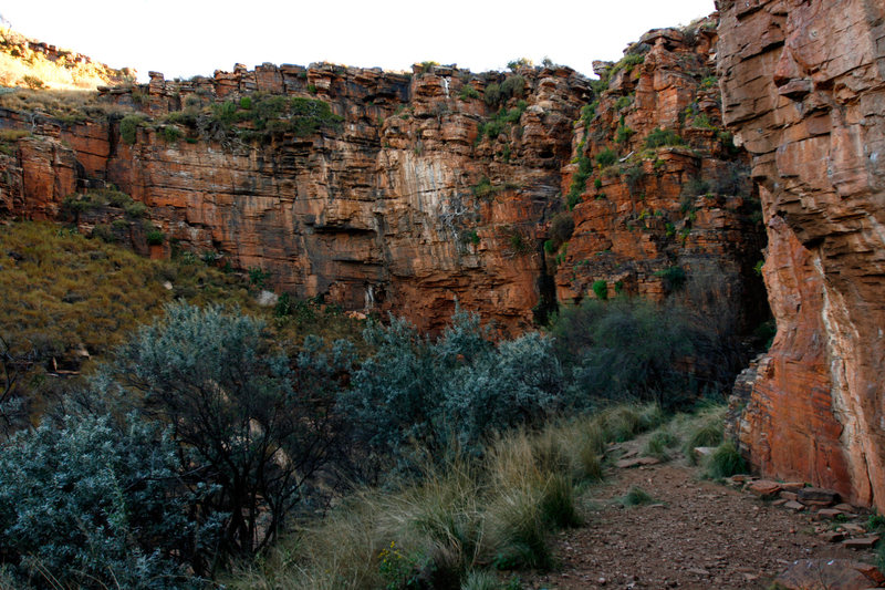Rock Climbing Photo: A view of Harmony looking across the crag from the...