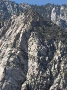 Rock Climbing Photo: Coffman's Crag at the upper right hand corner, fro...