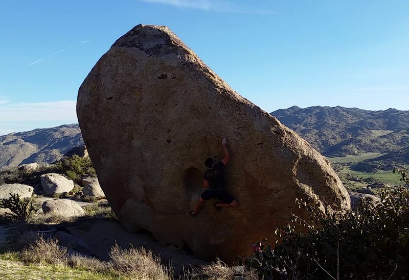 Rock Climbing Photo: That big boulder.