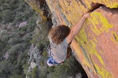 Rock Climbing Photo: cruisin the sweet crack