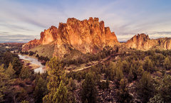 Rock Climbing Photo: Don't miss a Smith Rock sunrise!