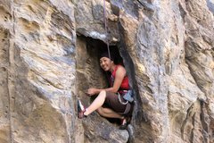 "Rock Climbing Photo: when they say ""giant hueco."" they mean g..."
