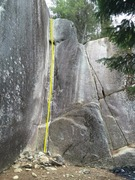 Rock Climbing Photo: Pixes Corner Topo