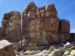 Rock Climbing Photo: Hannah seconding.  20 Mar 2016.