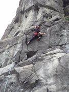 Rock Climbing Photo: Halfway up!