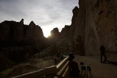Rock Climbing Photo: Main wall at Smith Rock