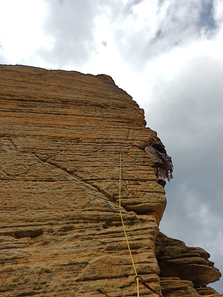 Mike figures out the final crux