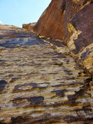 Rock Climbing Photo: Pitch 1 of Black Orpheus.