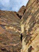 Rock Climbing Photo: Pitch 8 of Black Orpheus, where the fun really beg...