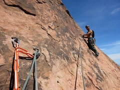 Rock Climbing Photo: Pitch 11 of Black Orpheus. To the top!