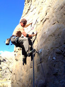 Rock Climbing Photo: MisterE on the second ascent of Muppet Show.