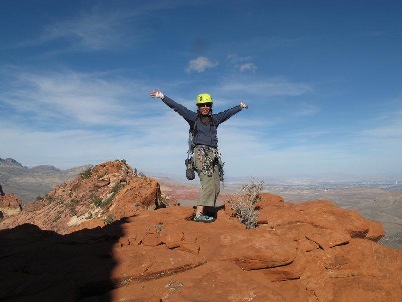 Rock Climbing Photo: Fun times at Red Rocks
