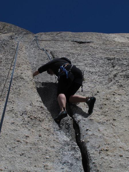 Rock Climbing Photo: Cracks...