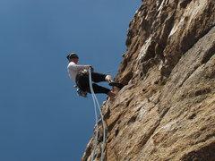 Rock Climbing Photo: Rap'n.