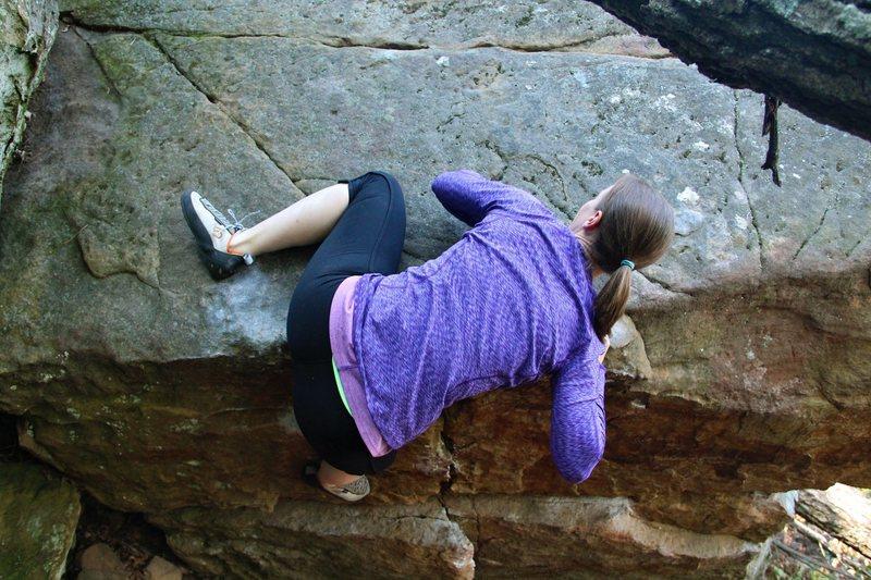 Rock Climbing Photo: Jen 2014