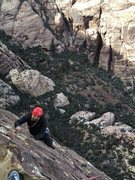 Rock Climbing Photo: Zach on CC March 14, 2016