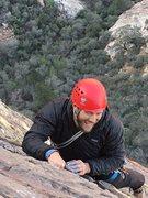 Rock Climbing Photo: Zach on P4 CC Mar 14, 2016