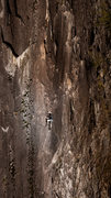 Rock Climbing Photo: Chandler Davis experiencing a radical 4 finger cry...