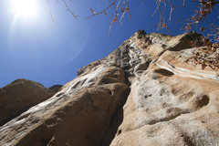 Rock Climbing Photo: Butt shot on Mean Leaner