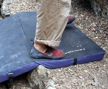 Rock Climbing Photo: Internet photo of the style of metolius pad